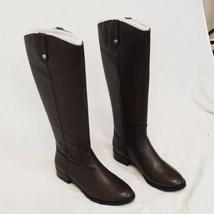 INC Fawne Riding Leather Boots